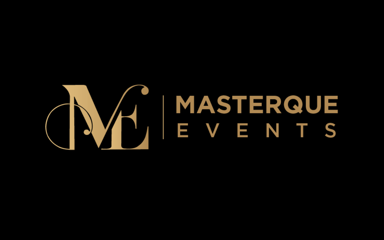 KD Enterprises Creative Art Work Logo - Masterque Events