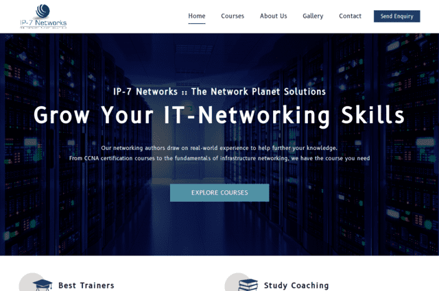 KD Enterprises Web Development - IP7 Networks